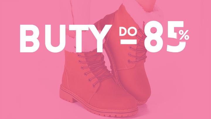 wyprzedaże butów damskich do 85%